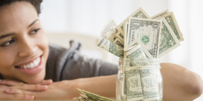 Image result for black woman with money